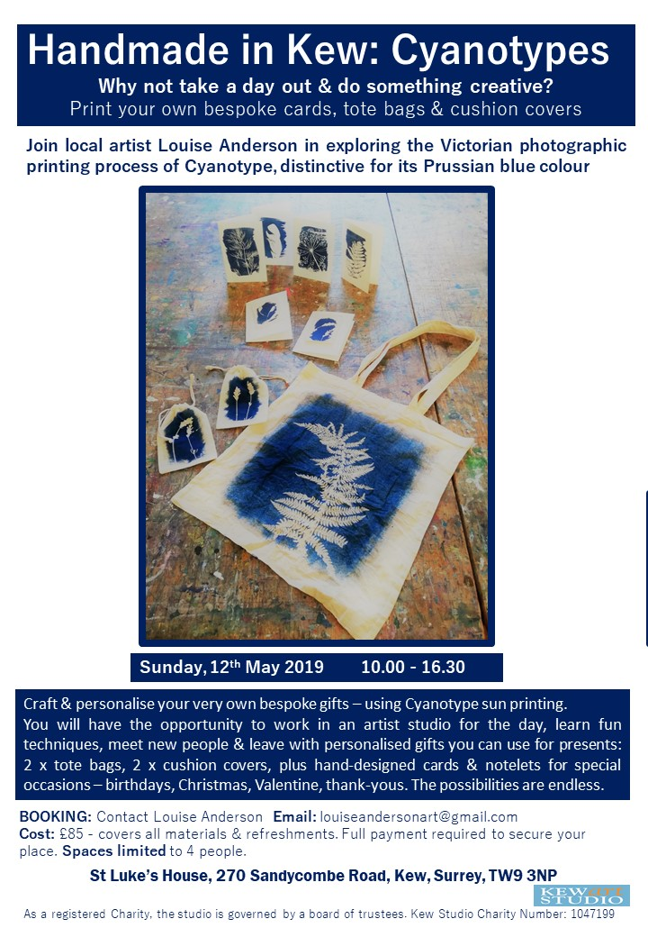 Cyanotype Poster May 2019