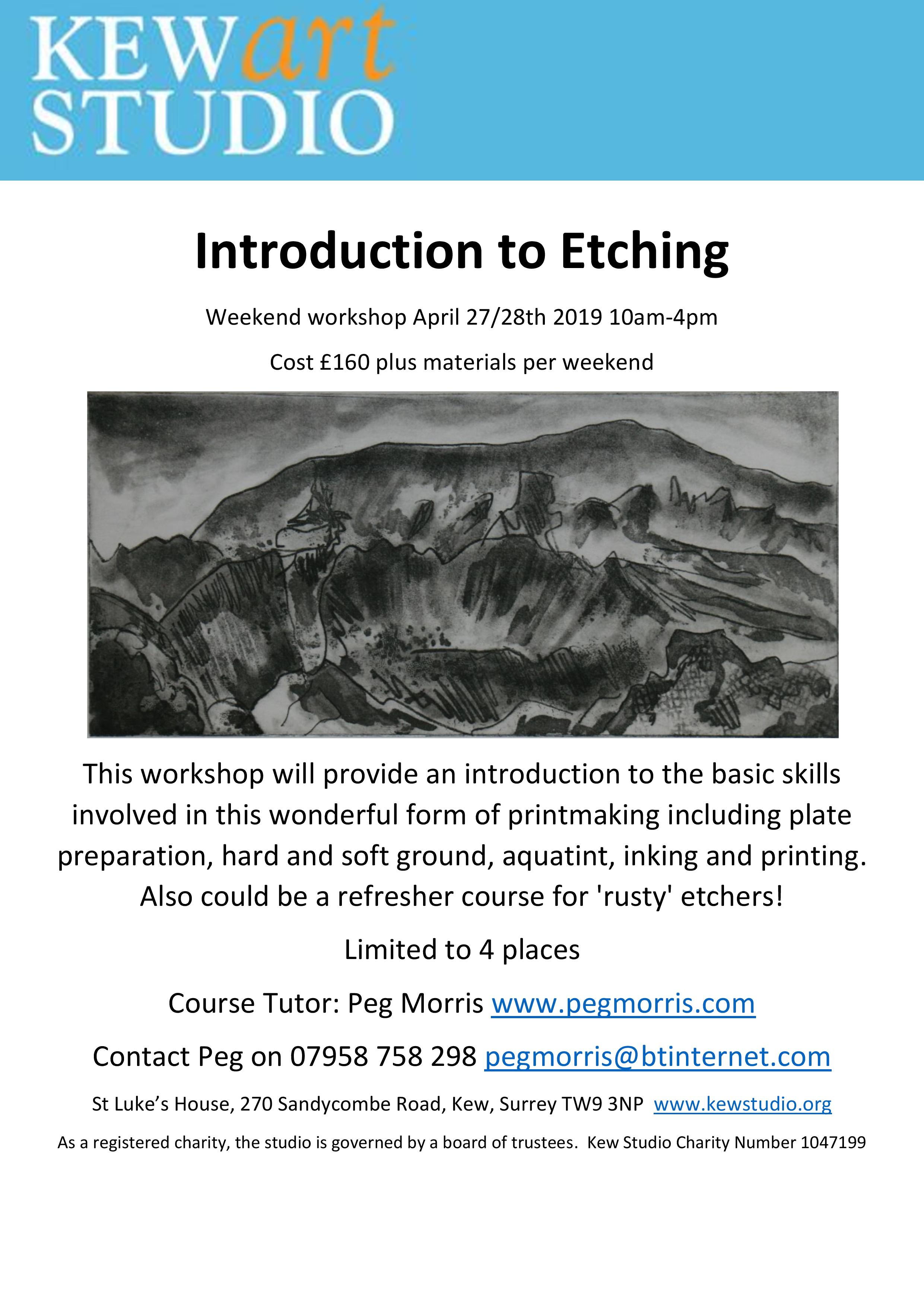 Introduction to Etching weekend April 2019-page-001