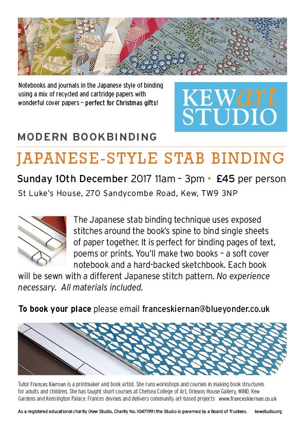 Japanese Bindings Workshop December