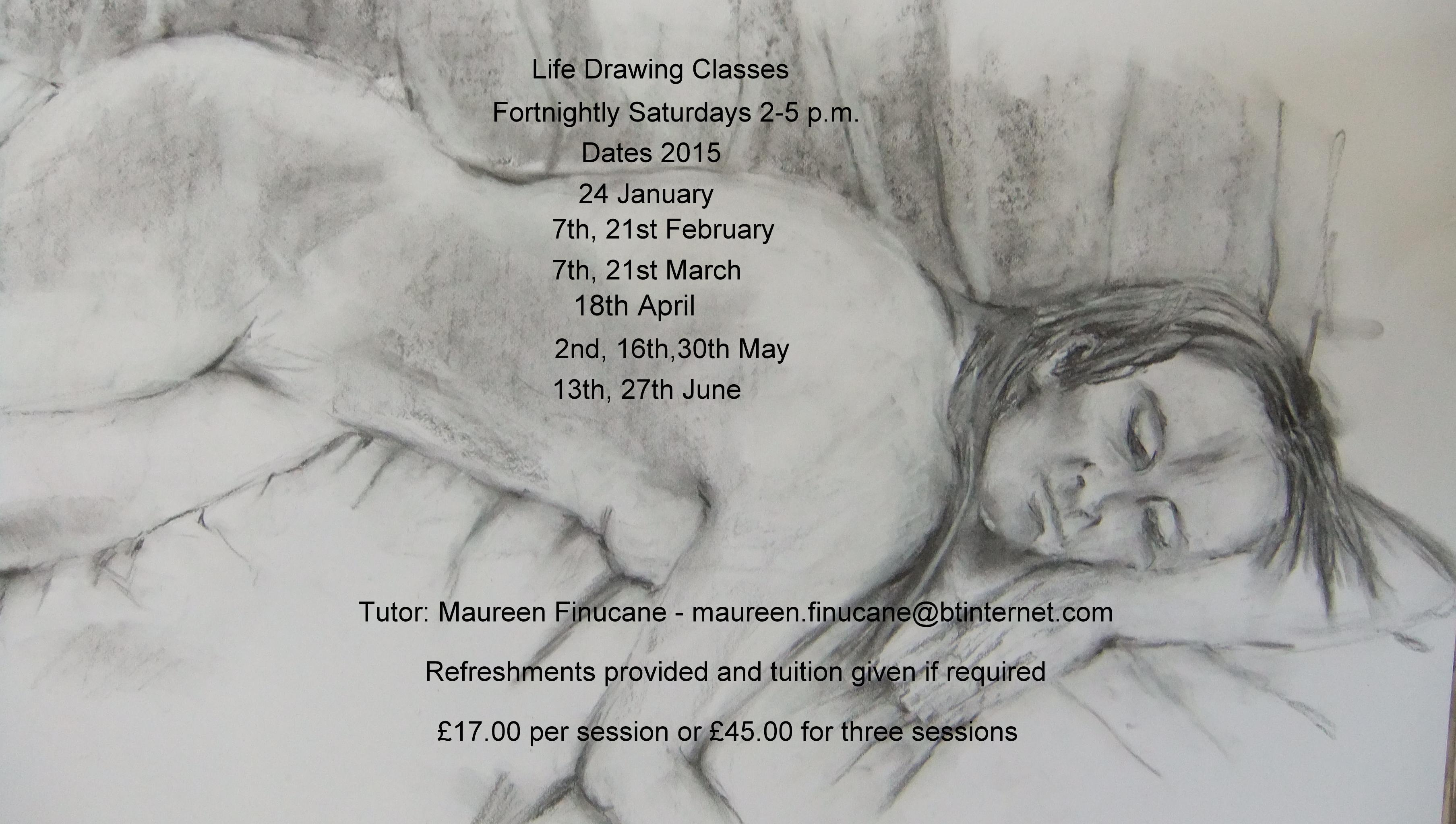 Life drawing class 2015