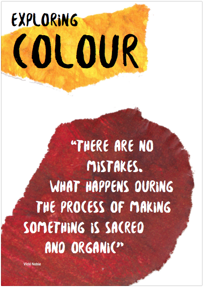 Download the Exploring Colour worksheet