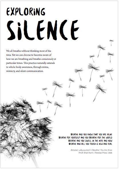 Download the Exploring Silence worksheet